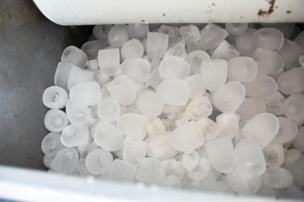 ijsblokjesmachine