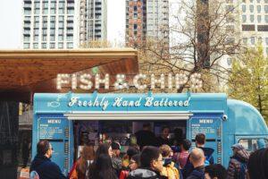 food truck op locatie